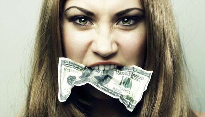 Доллар во рту
