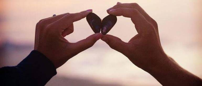 Сердечко из камней