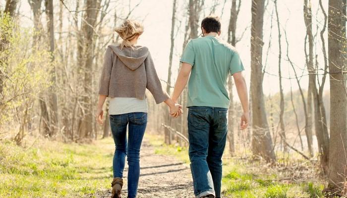 Прогулка влюбленных