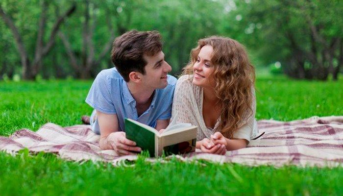 Чтение в парке