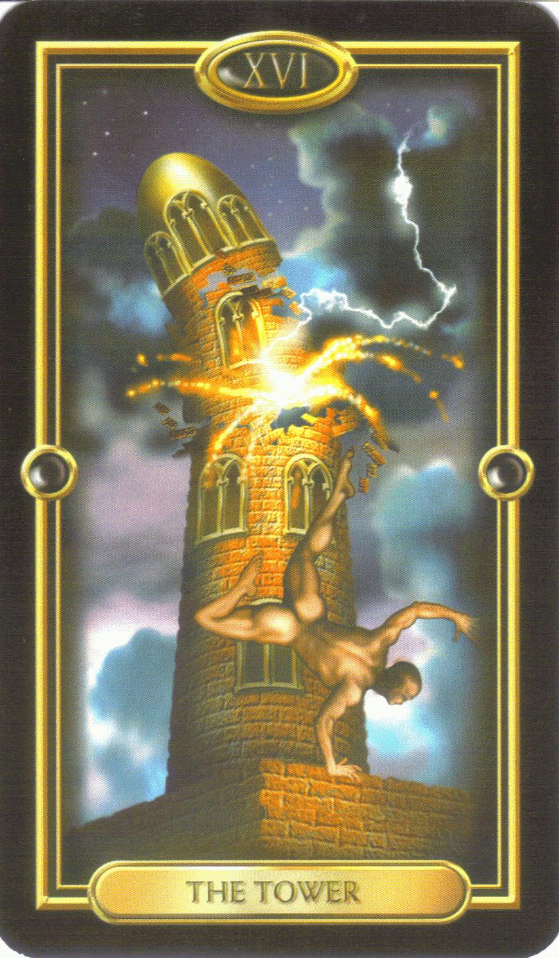 Карта таро башня картинка